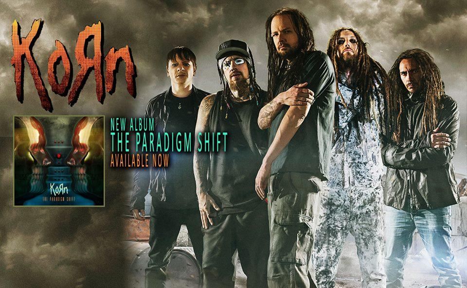 Korn The Paradigm Shift Cover