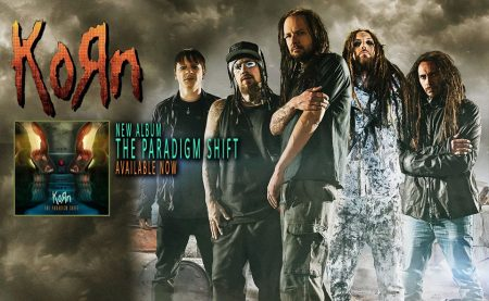 Korn - publicity band pic - The Paradigm Shift - promo - 2013