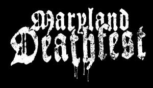 Maryland Deathfest - large logo - B&W - 2013 - #33