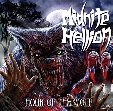 Midnite Hellion - Hour Of The Wolf - promo cover pic!