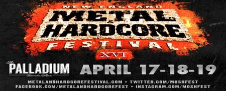 New England Metal & Hardcore Festival 14 - promo banner