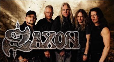 Saxon - band promo pic - band logo - 2013 - #47