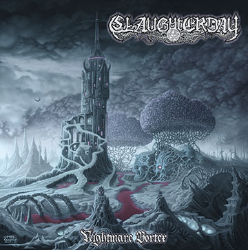 Slaughterday - Nightmare Vortex - promo cover pic - 2013