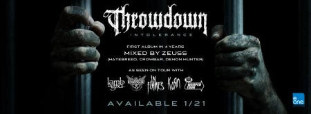 Throwdown - Intolerance - promo album banner - 2014