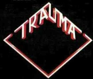 Trauma - Classic Band Logo - 2013