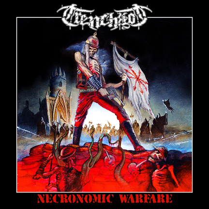 Trenchrot - Necronomic Warfare - promo cover pic - 2014