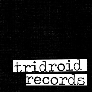 Tridroid Records - logo - B&W - 2013