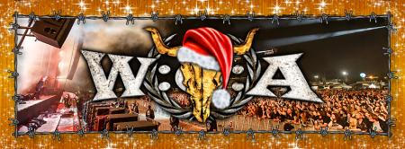 Wacken Open Air - Santa Hat - promo banner