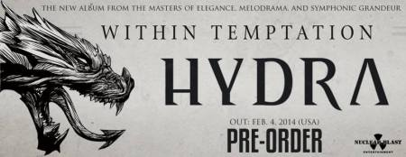 Within Temptation - Hydra - promo banner - pre-order - 2013