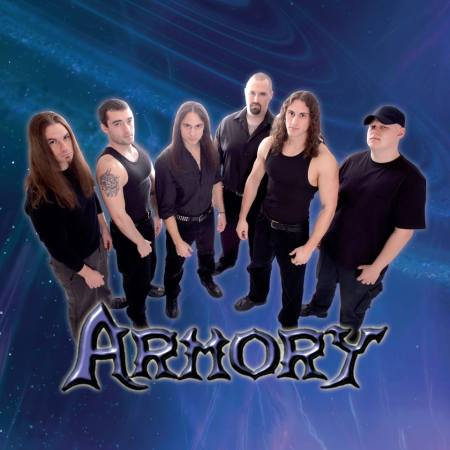 Armory - promo band pic - Empyrean Realms - 2014