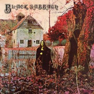 Black Sabbath - debut - self titled album cover promo - pic