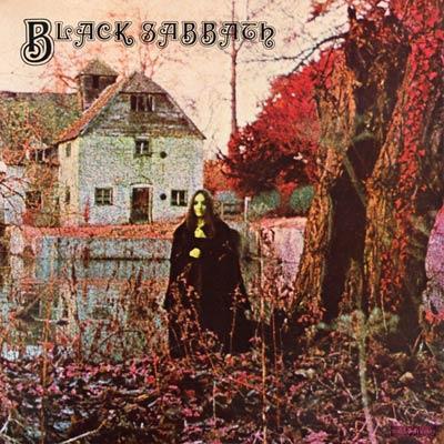 Black Sabbath - debut - self titled album cover promo - pic