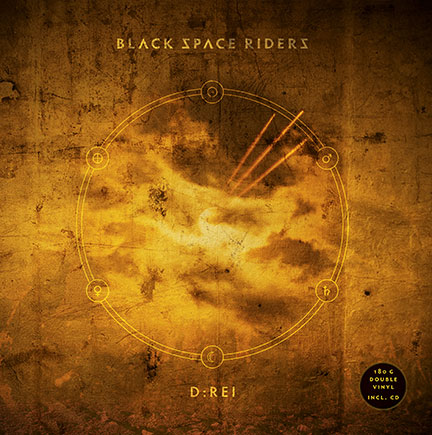 Black Space Riders - DREI - promo album cover pic - 2014