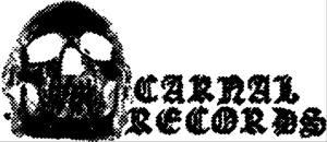 Carnal Records - large logo - B&W