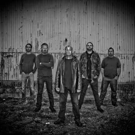Coldwar - promo band pic - B&W - 2014 - #99075