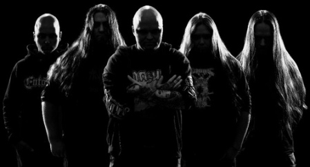 Corpsessed - promo band pic - B&W - #765
