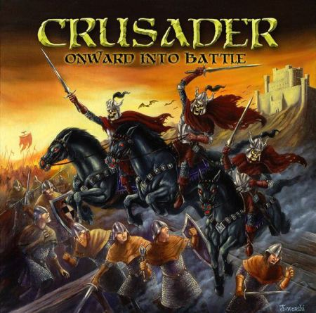 Crusader - Onward Into Battle - promo cover pic - 2013