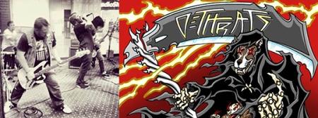 Dethrats - promo band - art logo banner - #4489 - 2014