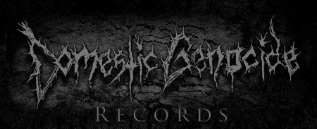Domestic Genocide Records - label promo banner - 2014