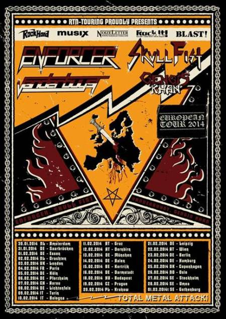 enforcer-headlining Europe -tour1