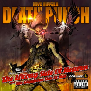 Five Finger Death Punch - Wrong Side Of Heaven - Volume 1 - promo cover