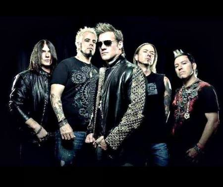 Fozzy - band publicity pic - #38090 - 2014