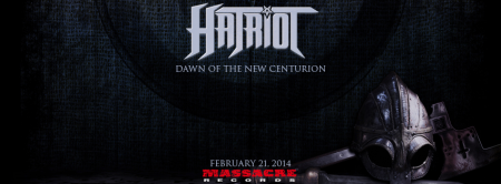 Hatriot - Dawn Of The New Centurion - promo album banner - 2014 - #10