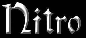 Nitro - Classic Band Logo - B&W - 2013