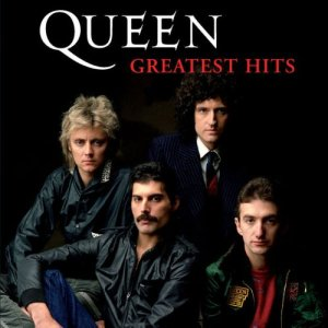 Queen - Greatest Hits - promo album cover pic - #1001