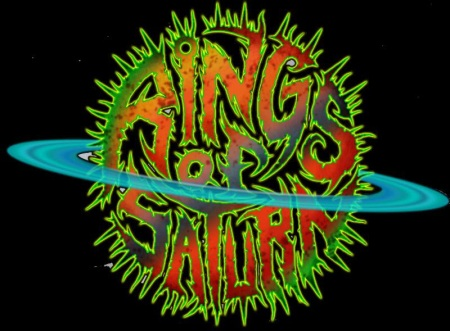 Rings Of Saturn - band logo - #3380 - 2014