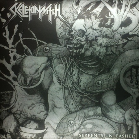 Skeletonwitch - Serpents Unleashed - vinyl - B&W - promo cover pic - 2014