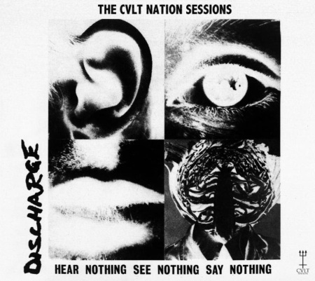 The Cult Nation Sessions Covers Compilation - Discharge - promo cover pic