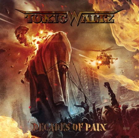 Toxic Waltz - Decades Of Pain - promo cover pic - 2014