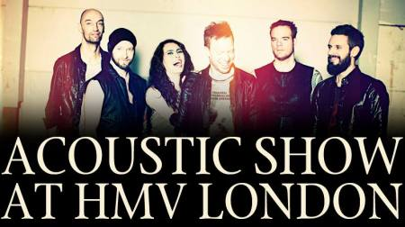 Within Temptation - Hmv London - Acoustic show - promo banner - 2014