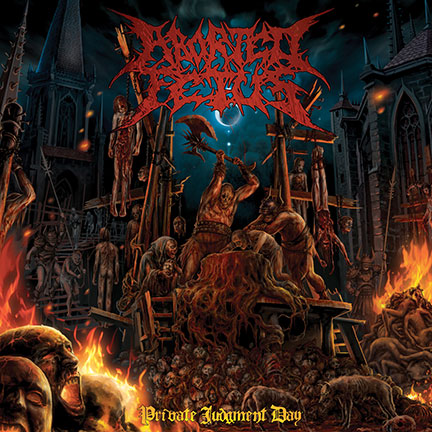 Aborted Fetus - Private Judgement Day - promo cover pic - 2014