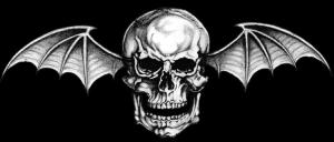 Avenged Sevenfold - classic bat skull logo - 2014 - #40004