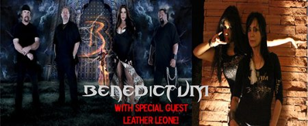 Benedictum - Leather Leone - promo banner - 2014 - Warriors Of Metal Fest