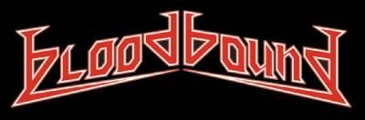 Bloodbound - band logo - red - white - #112