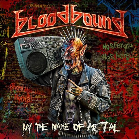 Bloodbound - In The Name Of Metal - promo cover pic - 2012