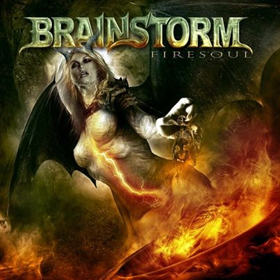 Brainstorm Firesoul Album Cover Artwork And Track