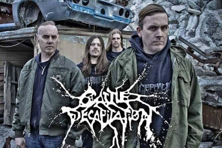 Cattle Decapitation - promo band and logo pic - 2014 - #4046