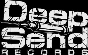 Deepsend Records - small logo - b&w - 2014