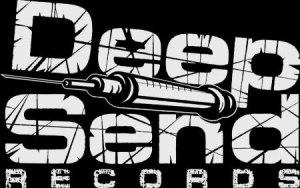 Deepsend Records - small logo - b&w - 2014