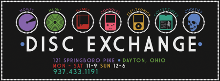 Disc Exchange - large store logo - #3390 - 2013