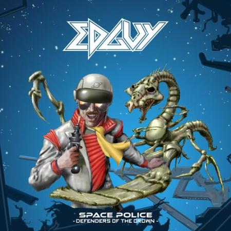 Edguy - Space Police - Defenders Of The Crown - promo cover pic