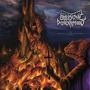 Embryonic Devourment - Reptilian Agenda - promo cover pic - 2014