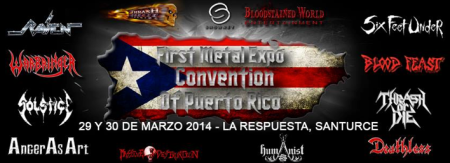 First Metal Expo Convention Of Puerto Rico - promo banner - 2014
