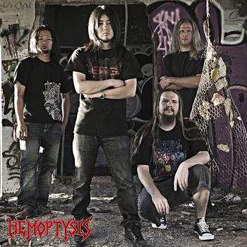 Hemoptysis - promo band pic - 2014 - #33792