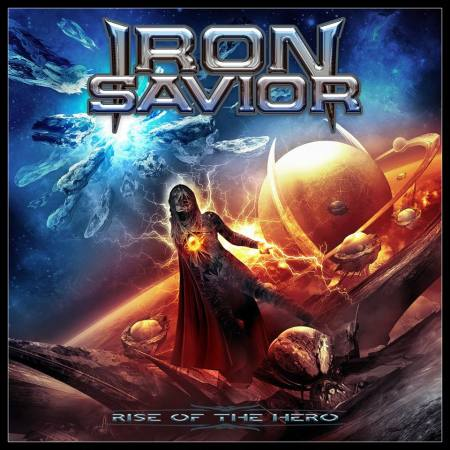 Iron Savior - Rise Of The Hero - promo cover pic - 2014