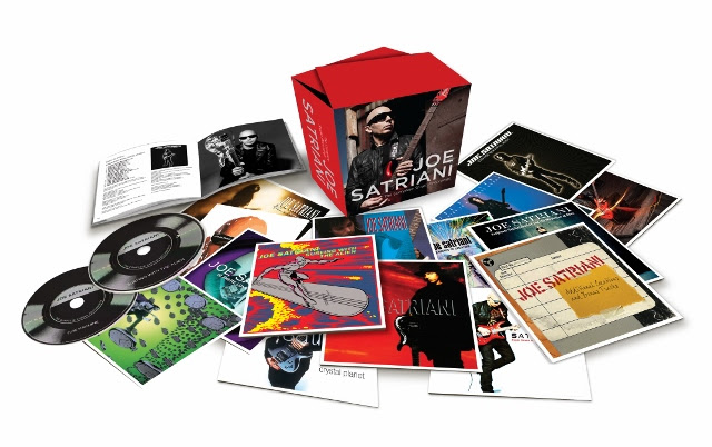 Legacy Recordings Releasing Joe Satriani The Complete